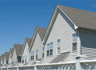 Image of vinyl siding fitted by RJI Professionals